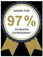 97% Patientenzufriedenheit Augenklinik Dr. Hoffmann
