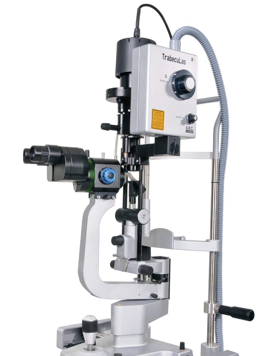 SLT-Laser Gerät zur Therapie bei Glaukom