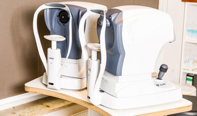 Professionelle Geräte zur Augenuntersuchung im Augenzentrum Burgwedel