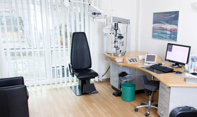 Praxiszimmer bei Augenarzt im Augenzentrum Isernhagen